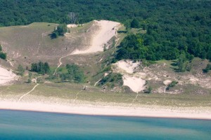 This is where The 3 Dune Challenge takes place along Lake Michigan in the Indiana Dunes.