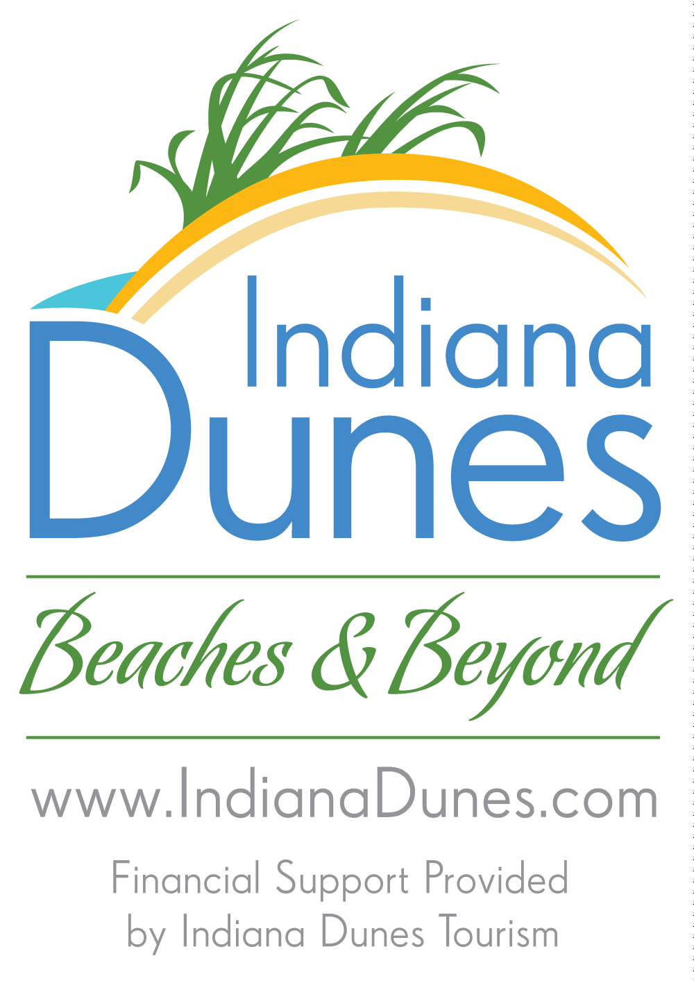 indiana dunes tourism logo grants