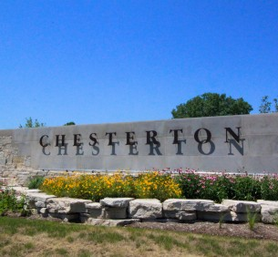 Chesterton Sign