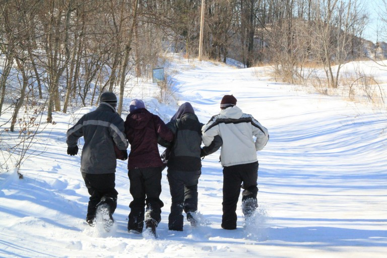 The snow is here! It's time to get outside and play