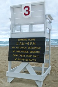 Safety and beach closures