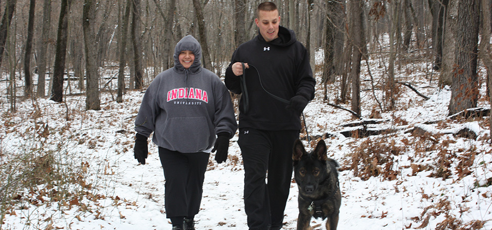 Enjoy a Christmas eve hike in the Indiana Dunes.