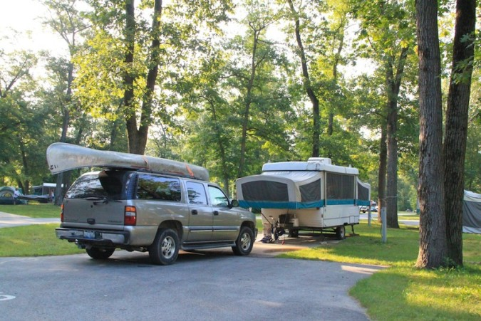 Indiana Dunes State Park Campground